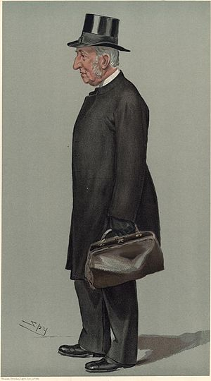 "James John Hornby - J J Hornby ""The Head"" (Vanity Fair caricature by Spy)"