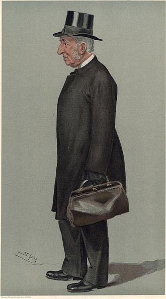 "James John Hornby - J J Hornby ""The Head"" (Vanity Fair caricature by Spy)"