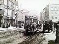 Horse tram on Long Row, Nottingham.JPG
