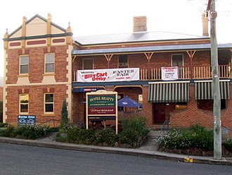 East Gresford, New South Wales - Hotel Beatty, East Gresford