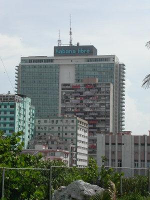 Vedado - Image: Hotel Habana Libre in Havanna, Kuba