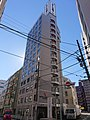 Hotel Hokke Inn Nihonbashi, at Nihonbashi-Koamicho, Chuo, Tokyo (2019-01-02).jpg
