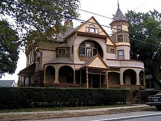 Stapleton, Staten Island - A Victorian home in Stapleton.