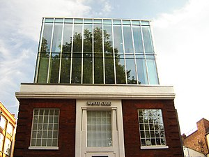White Cube - The now defunct White Cube, Hoxton Square, London, which closed in 2012.