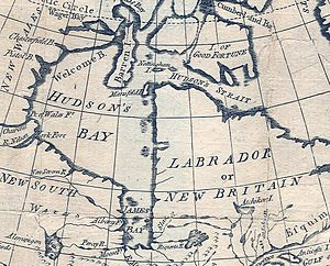 Hudson Bay expedition - Image: Hudson Bay 1779