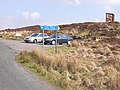 Hugh MacDiarmid memorial and car park - geograph.org.uk - 1250731.jpg
