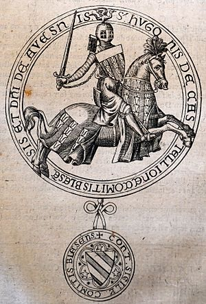 Hugh II, Count of Blois - Seal