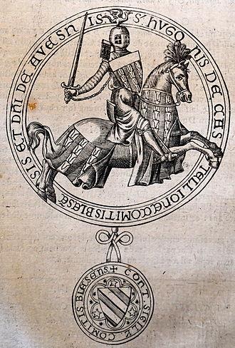 Hugh II, Count of Blois - Seal