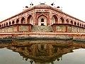 Humayun's Tomb Reflection Symmetry.jpg