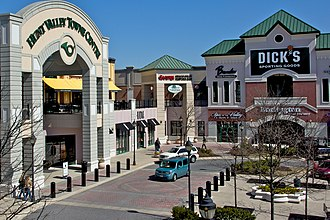 Hunt Valley, Maryland - Hunt Valley Towne Centre in Hunt Valley, Maryland
