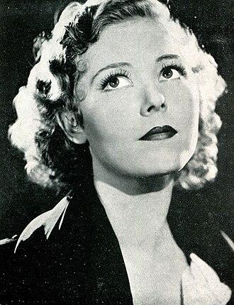 Josephine Hutchinson - Hutchinson in 1934