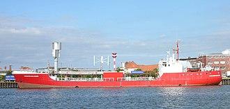 Hydrogen economy - Electrolysis of water ship Hydrogen Challenger