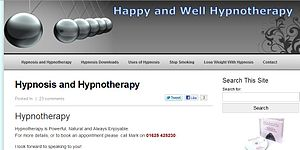 English: A new version of my Hypnosis website.