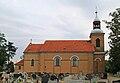 Iłówiec, Saint Andrew church, side view.jpg