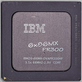 Cyrix 6x86 - IBM 6x86MX PR300 processor