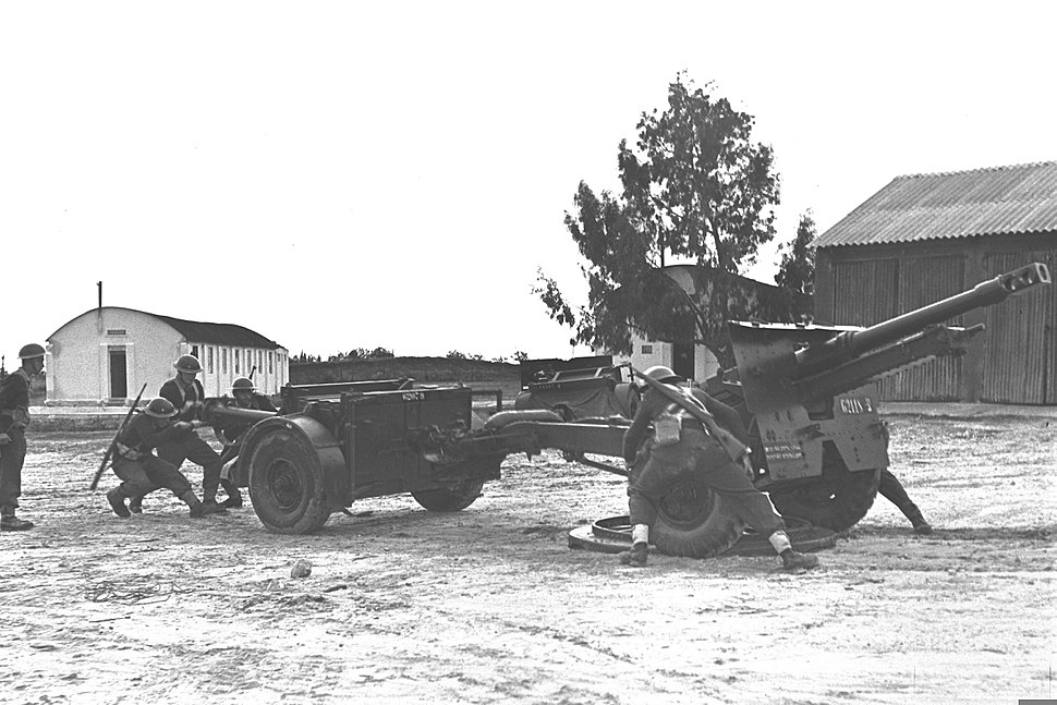 IDF Cannons 1954