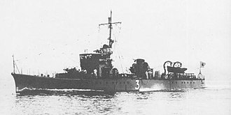 No.1-class submarine chaser - Image: IJN No 3 Submarine Chaser 1936