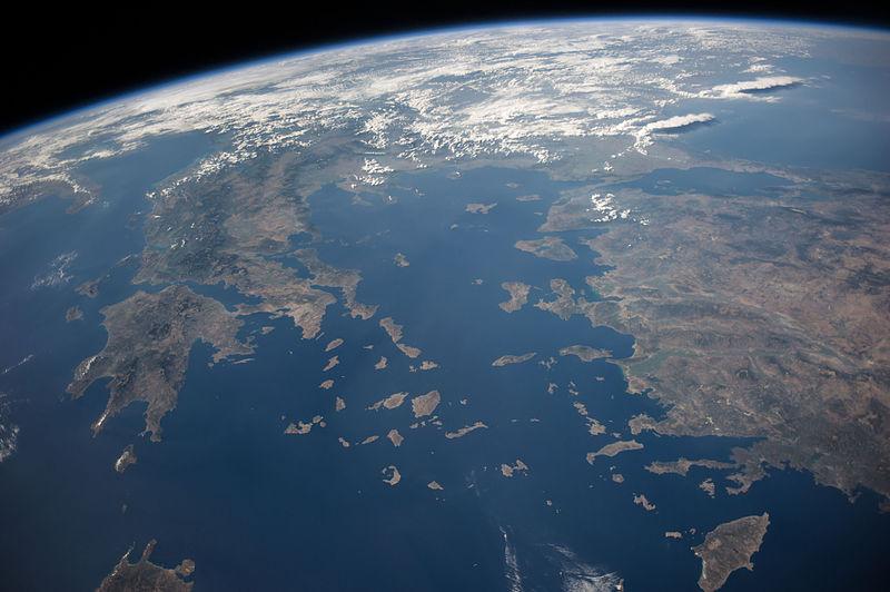 Archivo:ISS-40 Greece and Turkey.jpg