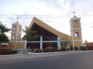 Our Lady of Mount Carmel Cathedral, Guasdualito Church in Guasdualito, Venezuela