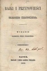 Ignacy Krasicki: Bajki i przypowieści