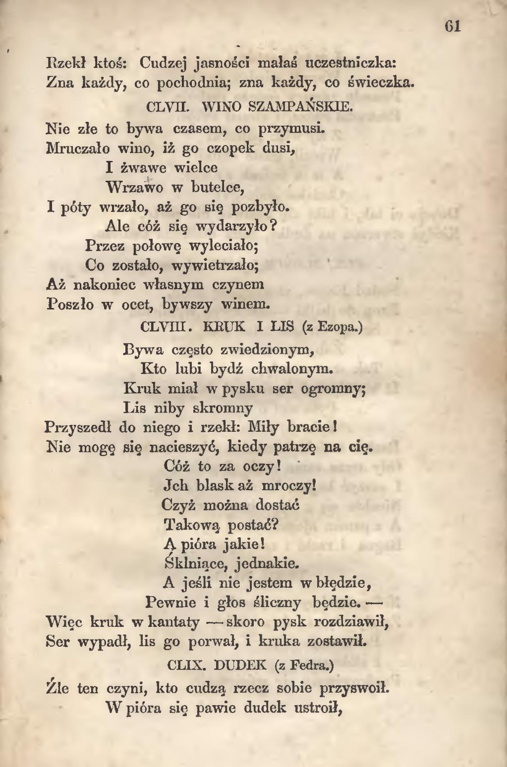 Stronaignacy Krasicki Bajki I Przypowieścidjvu061