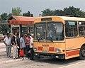 Ilidža bus terminal in Sarajevo (1996).jpg