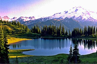 Image Lake - Image Lake at sunset