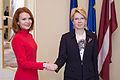 Ināras Mūrnieces tikšanās ar Igaunijas Republikas ārlietu ministri (15639781609).jpg