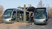 Inauguration de la branche vers Vieux-Condé de la ligne B du tramway de Valenciennes le 13 décembre 2013 (067).JPG