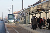 Inauguration de la branche vers Vieux-Condé de la ligne B du tramway de Valenciennes le 13 décembre 2013 (141).JPG