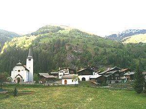 Inden, Switzerland - Inden village