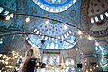 Inreior of the Blue Mosque. Istanbul, Turkey, Southeastern Europe.jpg
