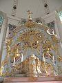 Intérieur de l'église Saint-Pierre et Saint-Paul de Jouy-sous-Thelle Maitre autel 4.JPG