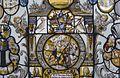 Interieur, glas-in-loodpaneel met gebrandschilderd glas, detail - Doorn - 20362535 - RCE.jpg