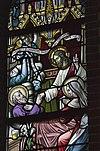 interieur mariakapel, glas in loodraam- sterfbed van jozef, detail - lith - 20334107 - rce