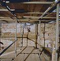 Interieur keukentoren- westwand in noordwesthoek, tussen eerste en tweede verdieping - Nederhemert-Zuid - 20342431 - RCE.jpg