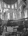 interieur van het koor - amsterdam - 20011941 - rce