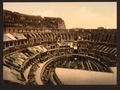 Interior of Coliseum, Rome, Italy-LCCN2001700940.tif