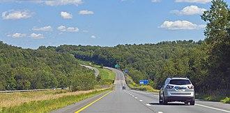 Interstate 84 (Pennsylvania–Massachusetts) - Image: Interstate 84 in Pennsylvania