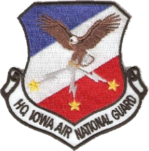 Iowa Air National Guard - Image: Iowa Air National Guard Emblem