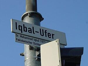 Pakistanis in Germany - Street named in Muhammad Iqbal' s honour in Heidelberg, Germany.