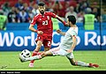 Iran and Spain match at the FIFA World Cup (2018-06-20) 10.jpg