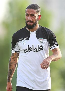 Iran training before 2018 FIFA World Cup qualification match against Qatar, Sanat Naft Training Complex 06.jpg