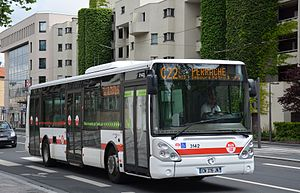 Buses in Lyon - Line C22 of buses in Lyon