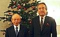 Isamu Akasaki and Seiji Morimoto 2014.jpg