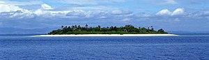 Island - A small Fijian island