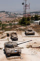 Israeli AFVs at the Harel Memorial in Har Adar.jpg