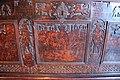 Italia settentrionale, cassone con decorazioni a china, 1550-1600 ca. colosso di rodi.JPG