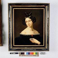 Elisa Williams Hope (1794-1860). Echtgenote van Hendrik Jacob Carel Johan Baron van Heeckeren