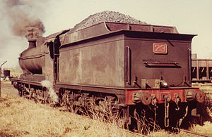ROD 2-8-0 - J & A Brown 23 at Hexham in June 1973